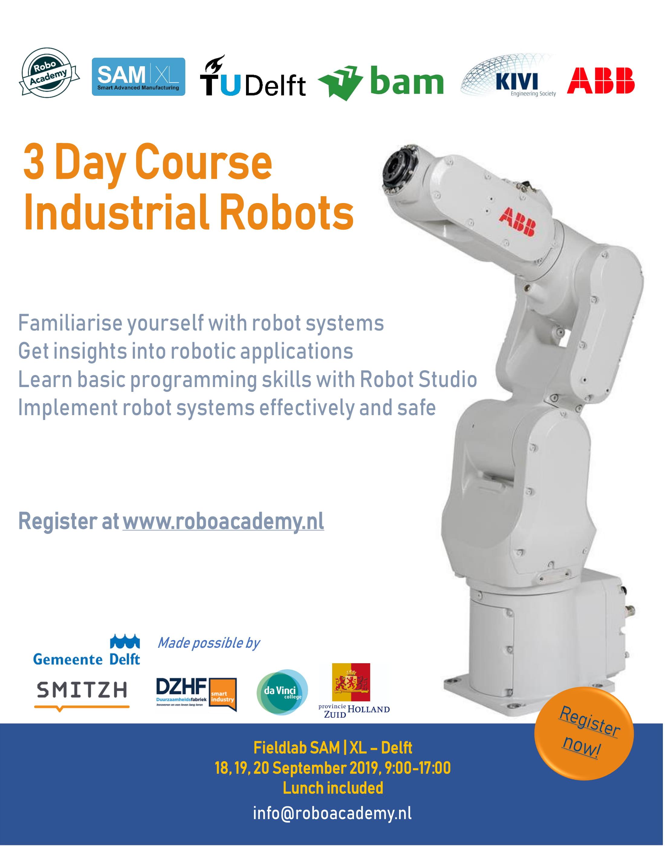 Industrial Robots for engineers